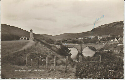 £4 • Buy Scotland - Helmsdale And The River - R/p - Postcard # P/u 1963# 22696
