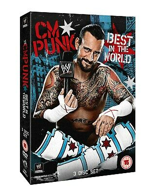 WWE CM Punk Best In The World DVD John Cena Daniel Bryan Chris Jericho Brand New • 20£