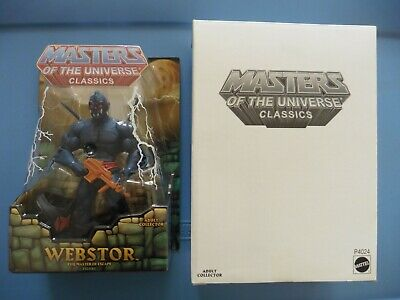 $135 • Buy MOTUC Masters Of The Universe Classics WEBSTOR   NEW