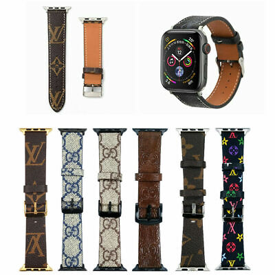$ CDN17.03 • Buy For Apple Watch IWatch Band Series 1-6 SE Modern Buckle Genuine Leather Strap