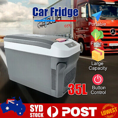 AU186.99 • Buy 35L Portable Car Fridge Mini Refrigerator Car Home Dual Use Campin C