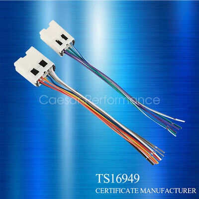 $6.66 • Buy Car Stereo CD Player Wiring Harness Adapter Cable Aftermarket Radio Install Plug