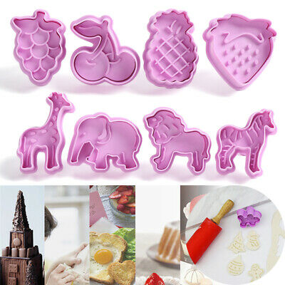 £3.59 • Buy Tool Baking Fondant Plunger Cookie Cutter Parent-child Christmas Biscuit Mold