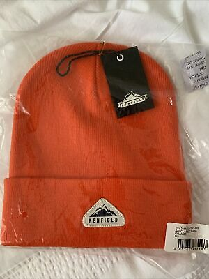 £19.99 • Buy Penfield Classic Tag Beanie Os Unisex Sold Out Orange