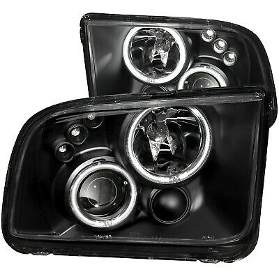 $342.82 • Buy Anzo 121166 Projector Headlights W/ Halo Black For 2005-2009 Ford Mustang