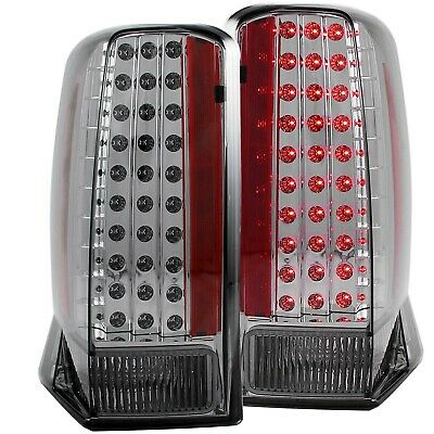 $381.85 • Buy Anzo 321221 LED Taillights Smoke For 2002-2006 Cadillac Escalade