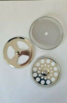 Filter Gauze Mesh Assembly Set For Cafetiere Coffee Press Maker 4  6  8 Cup • 3.50£
