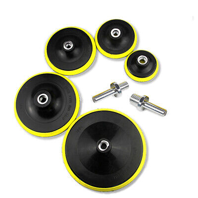 AU18.59 • Buy 75 100 125 150 180mm Backing Pad Hook & Loop M10 M14 Angle Grinder Sanding Discs