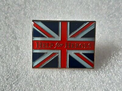 £4.50 • Buy Help For Heroes Union Jack Pin Badge