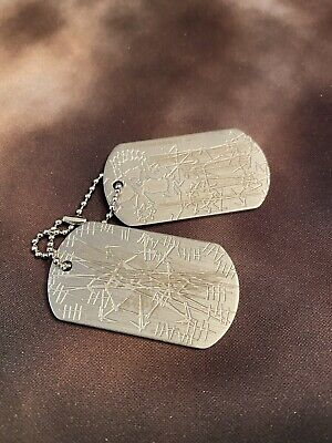 £70.80 • Buy Warhammer 40K Collectors Black Legion Chaos Cultist Dog Tags Very Rare