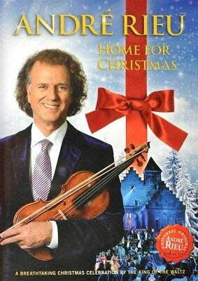 Andre Rieu : Home For Christmas DVD ** FIRST CLASS POST ** • 8.99£