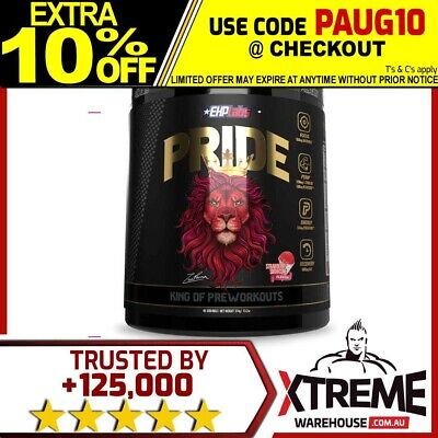 AU64.40 • Buy Ehp Labs Pride Pre-workout 40srv// Oxyshred Stim Pump Energy Focus Recovery Zero