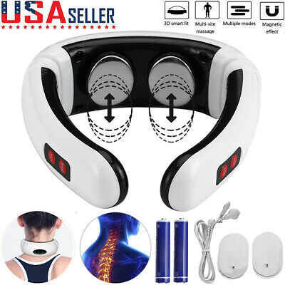 $11.59 • Buy Electric Body Cervical Neck Pulse Massager Muscle Shoulder Relax Relieve Pain