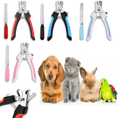 £4.25 • Buy Pet Nail Clippers Cat Dog Animal Rabbit Sheep Claw Trimmer Grooming Large Small