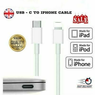 AU5.17 • Buy Genuine IPhone Charger Fast For Apple Long Cable USB-C Lead 5 6 7 8 X XS XR