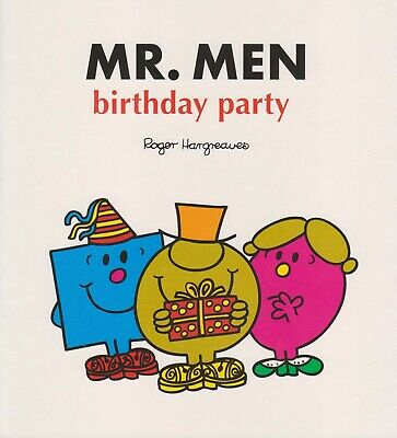 £2.99 • Buy Mr Men Birthday Party Large Book *brand New* Free P&p Little Miss Favor Gift