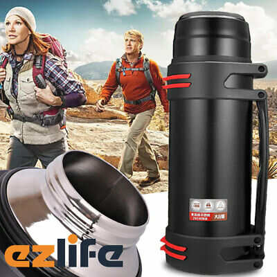 AU26.95 • Buy 2L Hot Water Travel Mug Insulated Bottle Flask Thermal Thermos ACB#