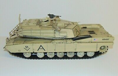 $45 • Buy 2007 Unimax QTA007 Forces Of Valor M1A1 Abrams US Army 1/18 Military Tank 17