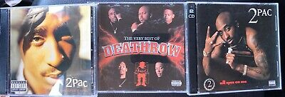 5 Cd Lot: 2pac~greatest Hits~all Eyez On Me~~best Of Death Row~snoop Dog~dr. Dre • 28.30£