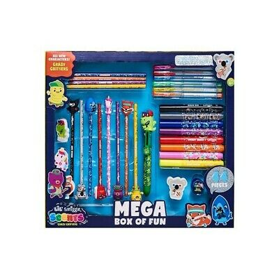 £25 • Buy Smiggle Lil' Scent Crazy Critters Scented Pencil Mega Pack