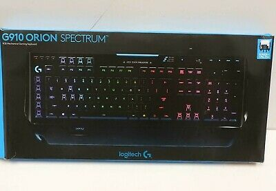 AU169.99 • Buy Logitech G910 Orion Spectrum RGB Mechanical Gaming Keyboard