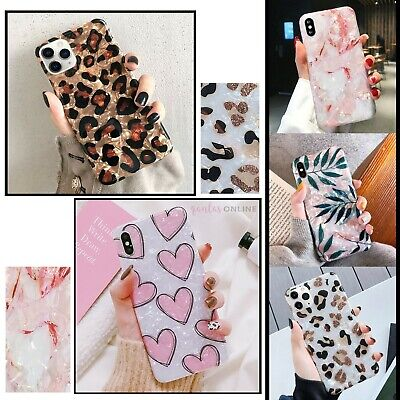 AU12.99 • Buy Marble Leopard Shockproof Case Cover For IPhone 11 12 MINI PRO MAX X SE 2020