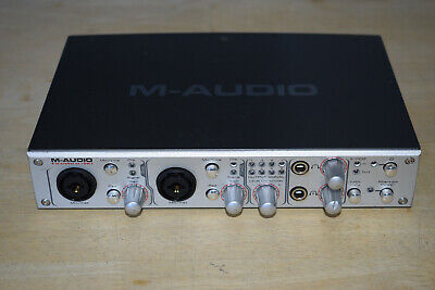 $34.52 • Buy M-Audio FireWire 410 Audio Interface, Good Condition, NO Cable Or Power Supply