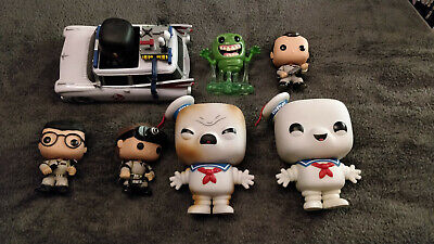 Funko Pop! Ghostbusters Collection, Stay Puft, Ecto-1 And Crew • 65£