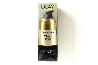 AU18.72 • Buy Olay Total Effects 7-In-1 Instant Smoothing Serum - 50ml (4577)