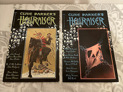 Clive Barker Hellraiser Comic Issue 1+2 • 9.99£