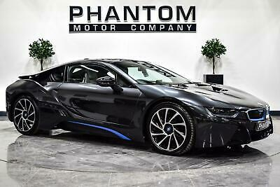2017 BMW I8 1.5 7.1kWh Auto 4WD (s/s) 2dr Coupe Petrol Plug-in Hybrid Automatic • 49,990£