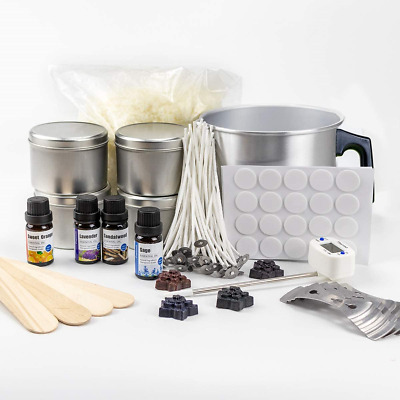 £40.53 • Buy Candle Making Kit For Adults - Complete Package With Soy Wax (2.2 LB), 4...