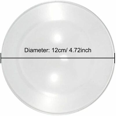 £11.99 • Buy Replacement Glass Dish Bowl Aroma Lamp Candle Oil Burner, Wax Melt Warmers 12cm