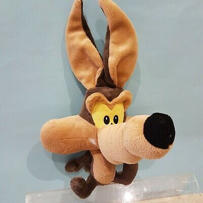 Looney Tunes Wile E Coyote New Soft Plush Toy From Roadrunner WBros Big Heads  • 12.99£
