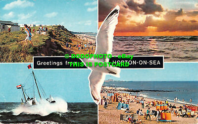 R532391 Greetings From Hopton On Sea. D. Constance. Multi View • 7.99£
