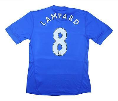 Chelsea 2009-10 Authentic Home Shirt Lampard #8 (Excellent) S Soccer Jersey • 59.99£