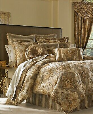 $ CDN361.57 • Buy J Queen New York Bradshaw 4-Pc. King Comforter Set-Brown T4101594