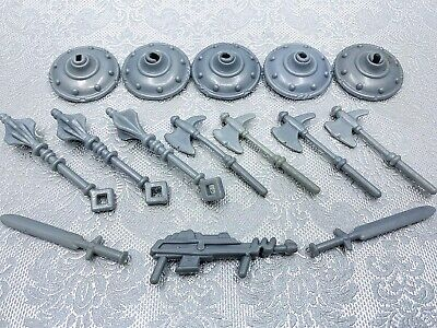 $38 • Buy Motu Masters Of The Universe Gray Weapons Accessories Lot