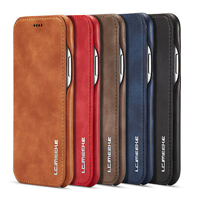 $ CDN11.06 • Buy Slim Leather Flip Wallet Case Phone Cover For Samsung Galaxy S21+ Ultra S20 Note