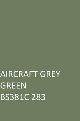 £16.45 • Buy AIRCRAFT GREY GREEN BS381C  Agricultural Machinery Equipment Enamel Gloss Paint