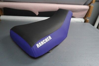 $41.99 • Buy Honda Rancher 350 2001-06 Logo Blue Sides Seat Cover #nw196mik195