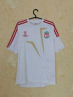Liverpool 2009 Training Football Shirt Jersey Adidas Champions League Size M - L • 21.28£