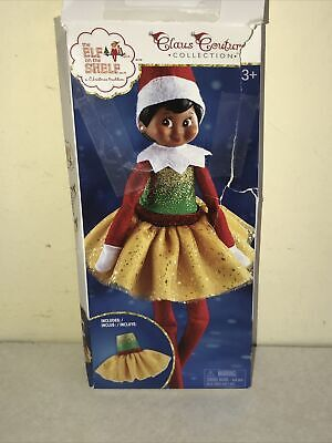 AU28.69 • Buy Elf On The Shelf Claus Couture Collection CLASSIC CHRISTMAS DRESS GIRL NEW