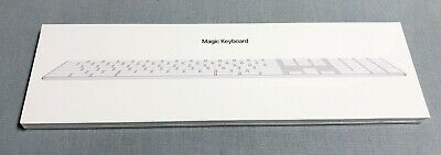 $ CDN125 • Buy Apple Magic Keyboard With Numeric Keypad A1843 White Sealed New