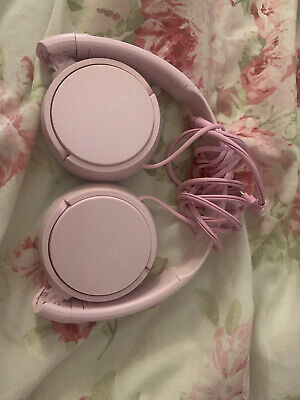 Sony MDR-ZX110 On-Ear Wired Headphones - Pink • 5£