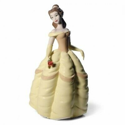 NAO Disney Princess Belle Ceramic Figurine- Opened But NEW Condition • 99£