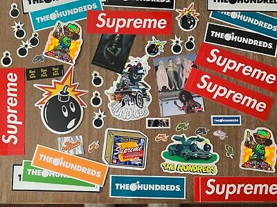 $ CDN12.52 • Buy NEW Authentic Hypebeast Stickers Lot Supreme Hundreds Nike SB Small Large Decal