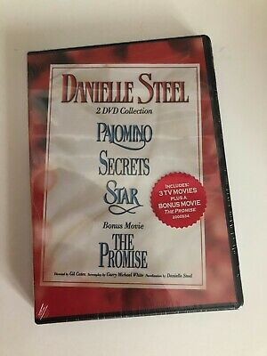 DANIELLE STEEL 2 DVD Collection NEW Palomino SECRETS Star & THE PROMISE • 14.46£