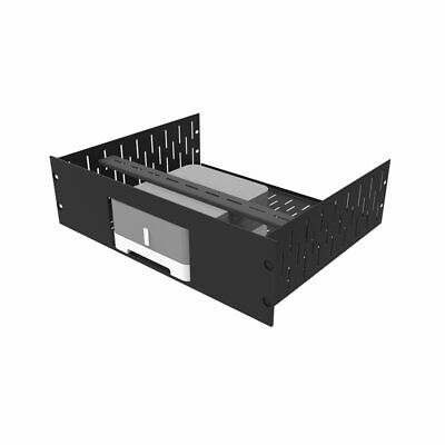 3U Vented Rack Shelf & Magnetic Faceplate For 1 X Sonos ZP120 (Connect:Amp) R149 • 67.12£