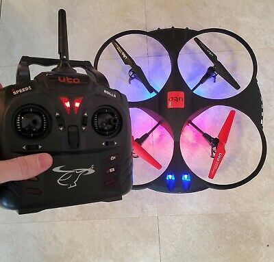 AU78.59 • Buy UTO U921 RC Drone Quadcopter W/ Camera SD Card & Battery - TESTED WORKING